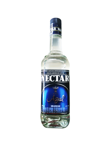 AGUARDIENTE NECTAR AZUL 750 ML