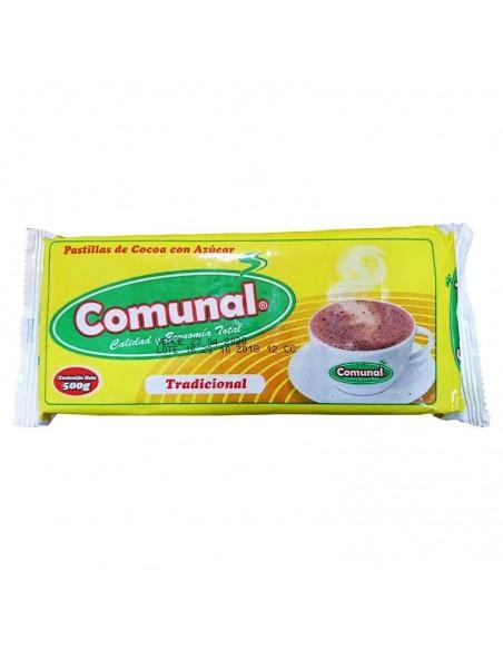 CHOCOLATE COMUNAL 500 G