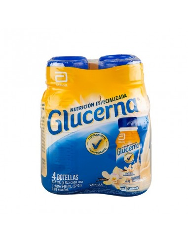 GLUCERNA PACK 4 UN 237 ML