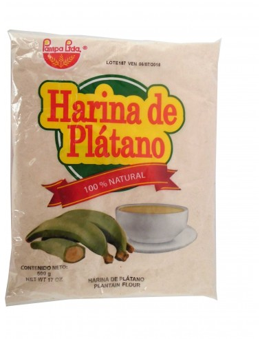 HARINA DE PLATANO PAMPERA 500 G